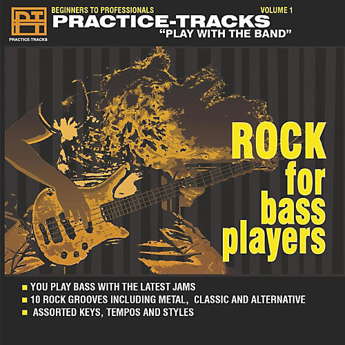 Practice Tracks ROCK BASS CD