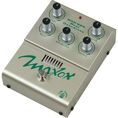 Maxon ROD880 Real Tube Overdrive Guitar Effects Pedal