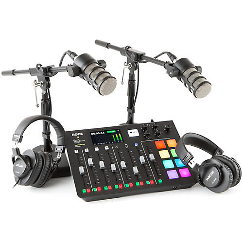 Rode RODEcaster Pro Dual PodMic Dual Podcasting Bundle