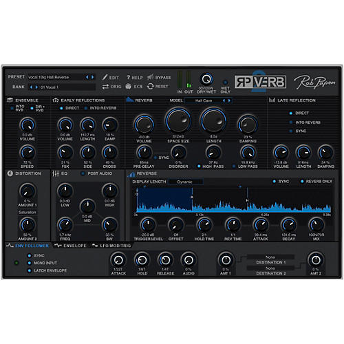 Rob Papen RP-VERB 2 and RP-Delay