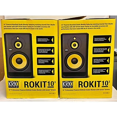 KRK RP10 ROKIT G4 3-Way Pair Powered Monitor