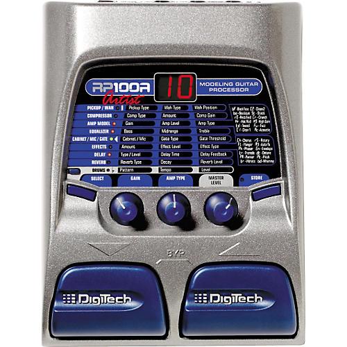 DigiTech RP100A Artist Modeling Guitar Processor