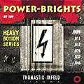 Thomastik RP109 Power-Brights Heavy Bottom Light Top Electric Guitar Strings thumbnail