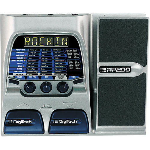 DigiTech RP200 Modeling Guitar Processor