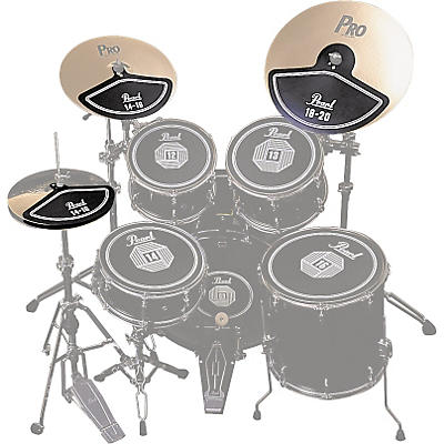 Pearl RP40C Rubber Cymbal Pad Set