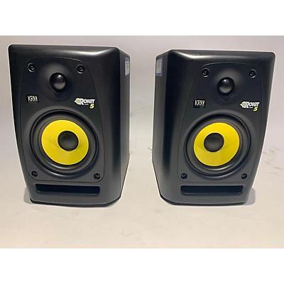 KRK RP5 ROKIT G4 Pair Powered Monitor