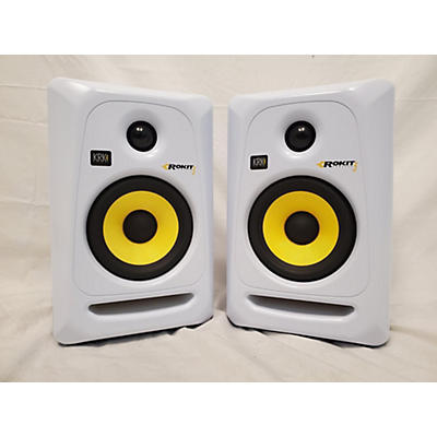 KRK RP5G3W Pair Powered Monitor