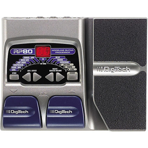 DigiTech RP80 Modeling Guitar Processor