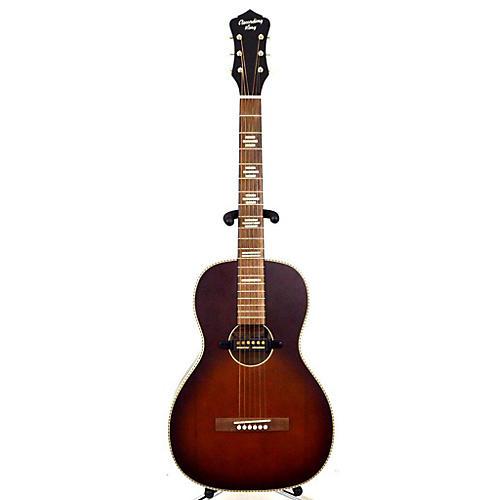Recording King RPS-7-E DIRTY 30 Acoustic Electric Guitar Brown Sunburst