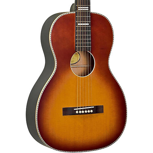 Recording King RPS-7-FES-TS Dirty 30s Series 7 Single 0 Electric-Acoustic Guitar Condition 1 - Mint Tobacco Sunburst