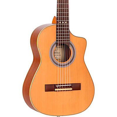 Ortega RQ39E Requinto Acoustic-Electric Guitar