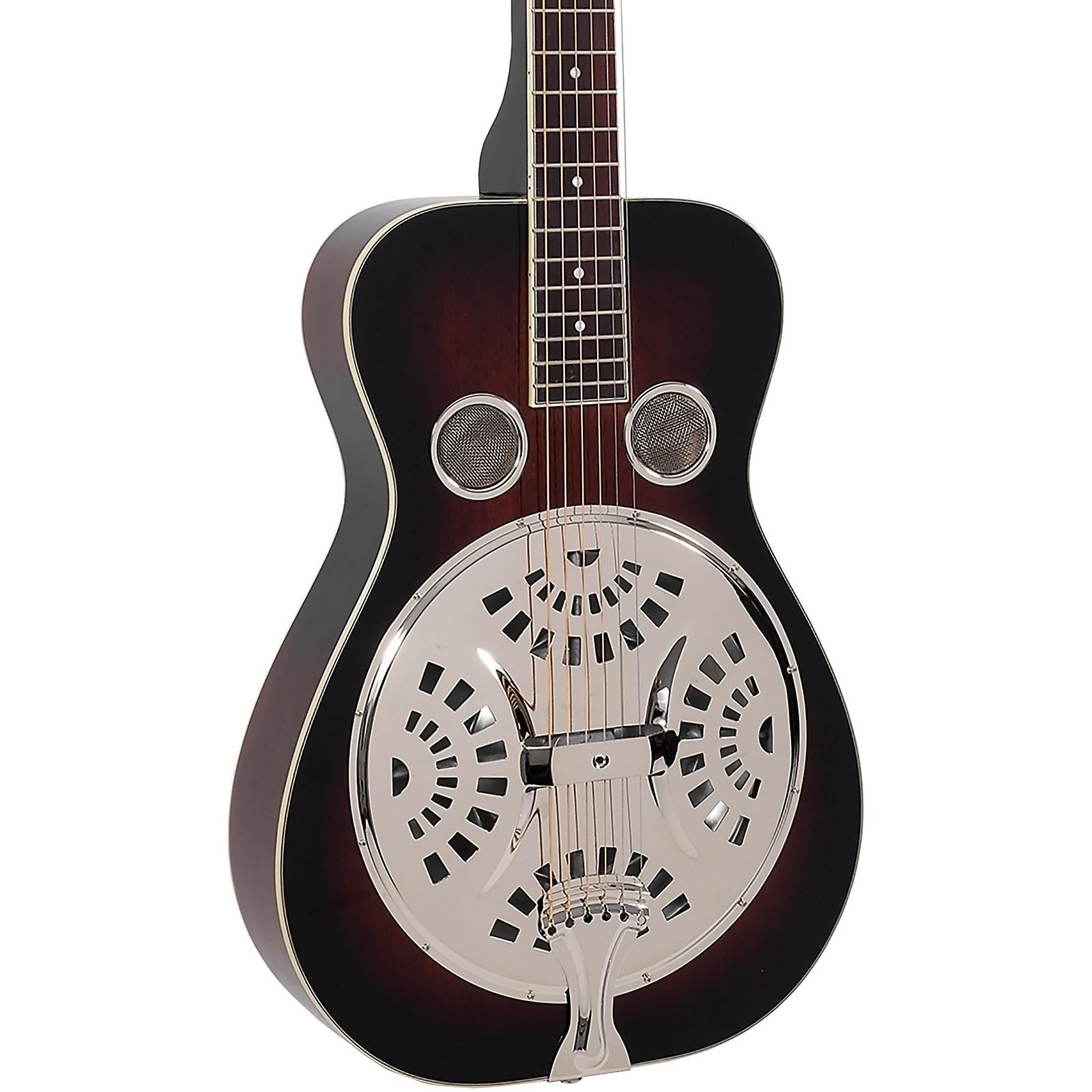Recording King RR-36S-VS Maxwell Series Square Neck Resonator Guitar