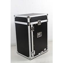 Open BoxRoad Ready RR11M16UC 11U Slant Rack, 16U Vertical Rack