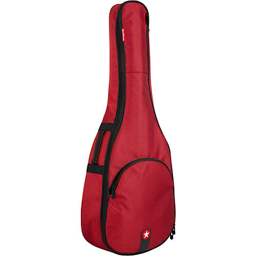 Road Runner RR1AGR Avenue Series Red Tweed Acoustic Guitar Gig Bag