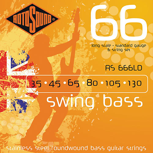 rotosound rs666ld 6 string roundwound bass strings musician 39 s friend. Black Bedroom Furniture Sets. Home Design Ideas
