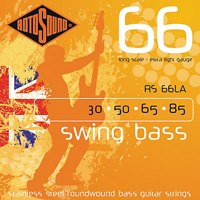 Rotosound RS66LA Extra Light Long Scale Bass Strings
