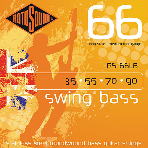 Rotosound RS66LB Medium Light Long Scale Bass Strings
