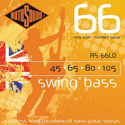 Rotosound RS66LD Long Scale Swing 66 Bass Strings