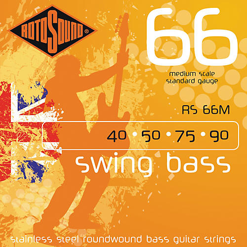 Rotosound RS66M Medium Scale Bass Strings