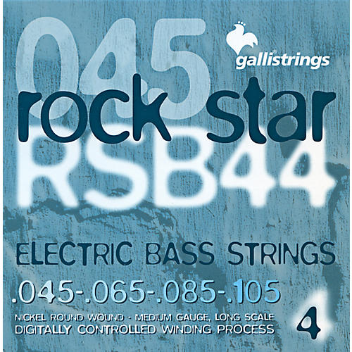 Galli Strings RSB44 ROCKSTAR Medium Bass Strings 45-105