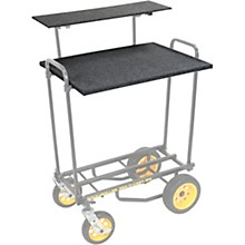 Open BoxRock N Roller RSHM2T 2-Tier Multimedia Shelf For R8, R10, R11G, R12 Carts