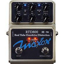 Open BoxMaxon RTD800 Real Tube Overdrive and Distortion Guitar Effects Pedal
