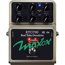 Open Box Maxon RTO700 Real Tube Overdrive Guitar Effects Pedal