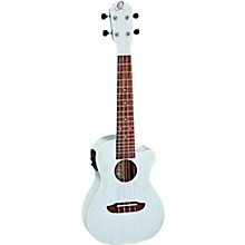 Ortega RUDAWN Earth Series Concert Ukulele Transparent Tequila Sunburst