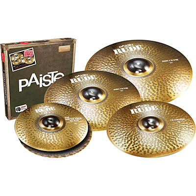 Paiste RUDE Big Sound Cymbal Set