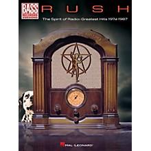 Hal Leonard RUSH - The Spirit Of Radio: Greatest Hits 1974 - 1987 Bass Guitar Tab Songbook