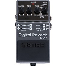 Open BoxBoss RV-5 Digital Reverb Effects Pedal