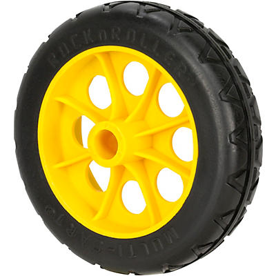 "Rock N Roller RWHLO6X15 6""x 1.5"" R-Trac Rear Wheel for RMH1, R2 Carts - 2-Pack"