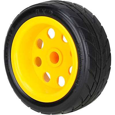 Rock N Roller RWHLO6X2 6x2in. R-Trac Rear Wheel (Upgrade For R2G, R2 Carts) 2-Pack