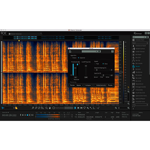 iZotope RX 6 Advanced Upgrade from RX 1-5 Advanced