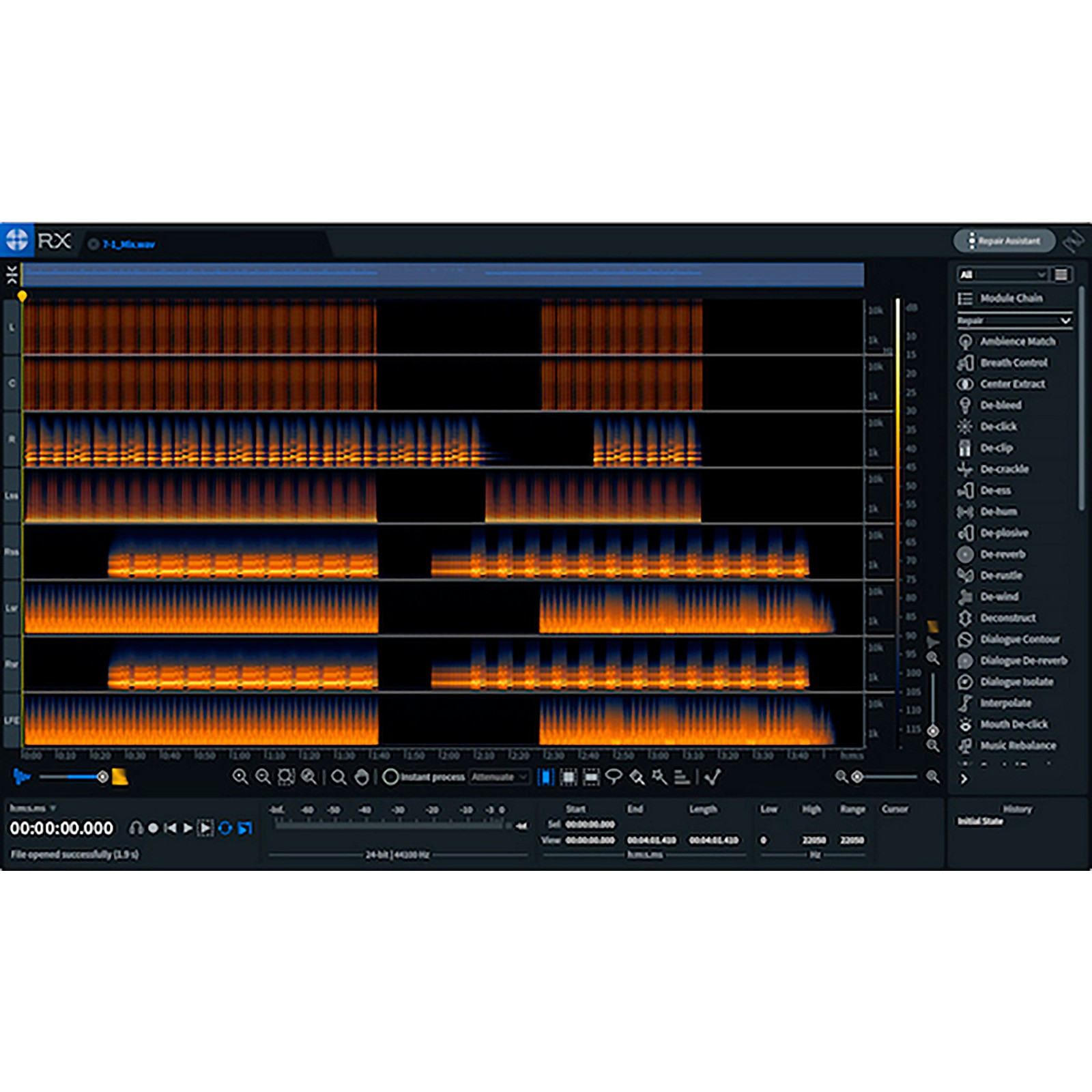 iZotope RX 8 Standard: Upgrade from any version of RX Standard, RX Advanced or RX Post Production Suite (Download)