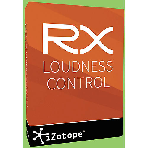 RX Loudness Control plug-in