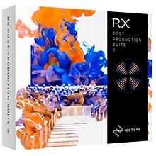iZotope RX Post Production Suite 3 upgrade from PPS 2