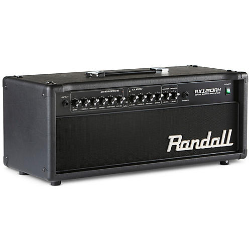 Randall RX Series RX120RH 120W Guitar Amp Head Condition 1 - Mint Black