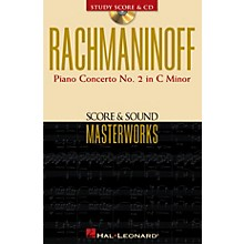 Hal Leonard Rachmaninoff - Piano Concerto No. 2 in C Minor Study Score with CD by Sergei Rachmaninoff