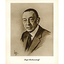 Music Sales Rachmaninov (Lupas Small Portrait Poster) Music Sales America Series