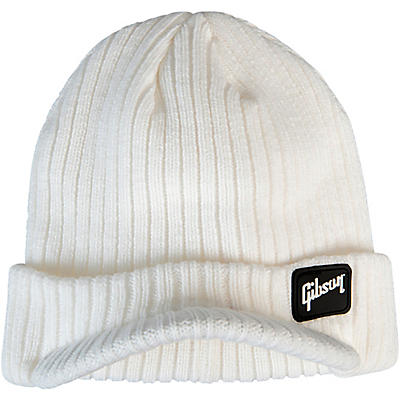 Gibson Radar Knit Beanie, White