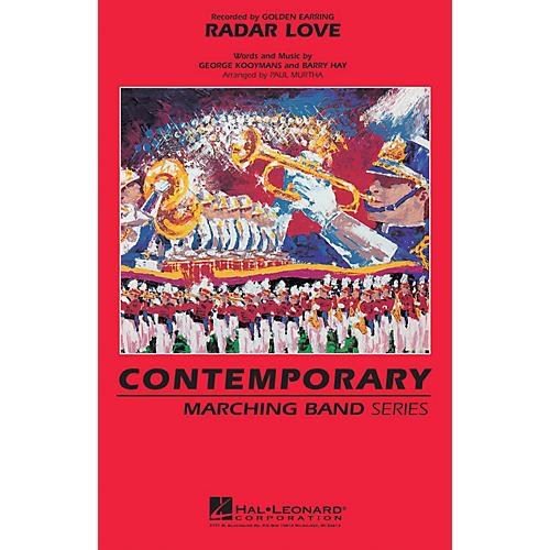 Hal Leonard Radar Love Marching Band Level 3 by Golden Earring Arranged by Paul Murtha