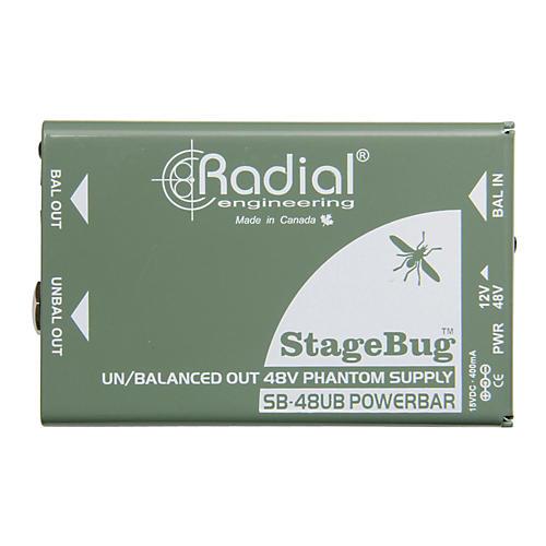 Radial Engineering Radial Engineering SB-48UB Phantom Power Supply for Instrument Microphones