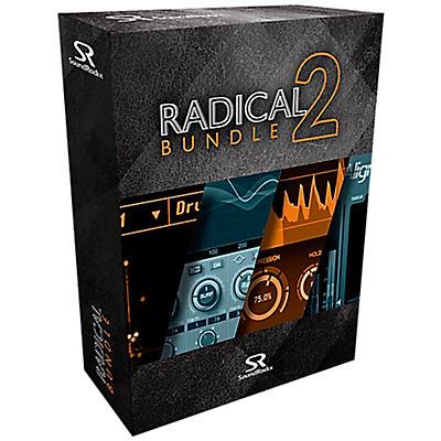 Sound Radix Radical Bundle 2 (Drum Leveler, Auto-Align, Pi, & Surfer EQ) Software Download