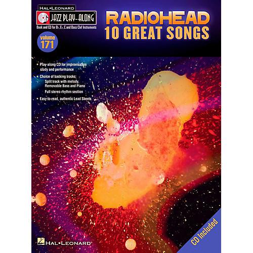 Hal Leonard Radiohead - Jazz Play-Along Volume 171 Book/CD