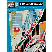 Alfred Radiohead Ultimate Play-Along Guitar TAB Book & 2 CDs