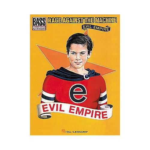 Hal Leonard Rage Against the Machine - Evil Empire Bass Tab Book