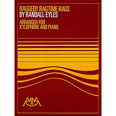 Meredith Music Raggedy Ragtime Rags for Xylophone And Piano