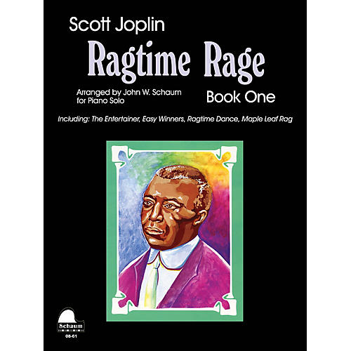 SCHAUM Ragtime Rage, Bk 1 Educational Piano Series Softcover