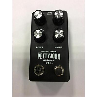 Pettyjohn Electronics Rail Effect Pedal